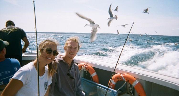 В планах у ребят купить яхту и отправиться на ней на Багамы, когда у них кончится срок действия визы