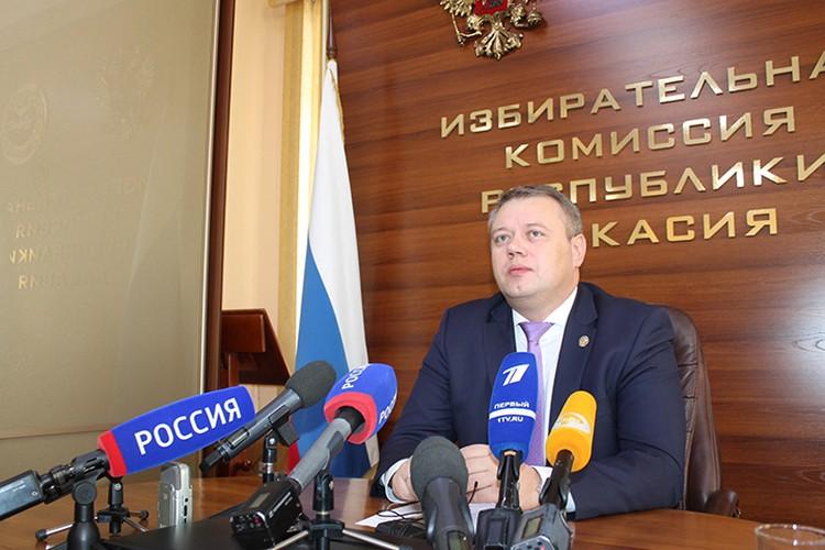 Александр Чуманин, председатель Избирательной комиссии Хакасии