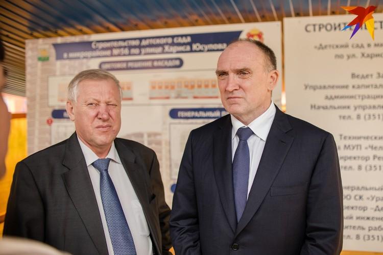Борис Дубровский объявил о смене руководства в Челябинске 15 ноября.