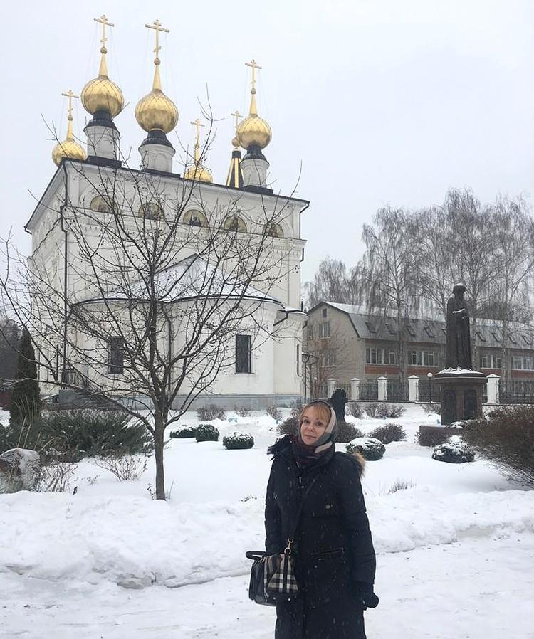 Выход из тяжелого психологического состояния Ирина Цывина нашла для себя в Храме.