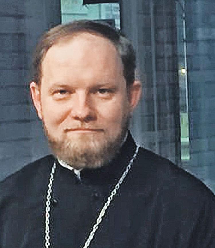 Пресс-секретарь Патриарха Кирилла Александр Волков
