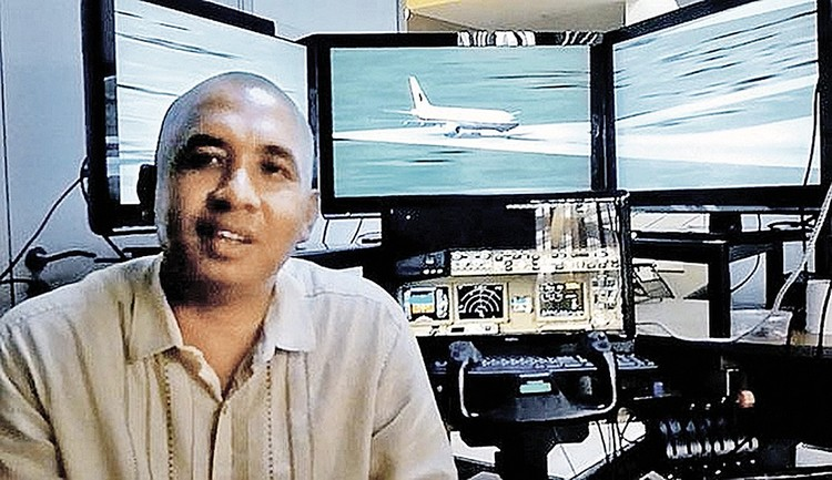 Командир воздушного судна Захари Ахмад Шах