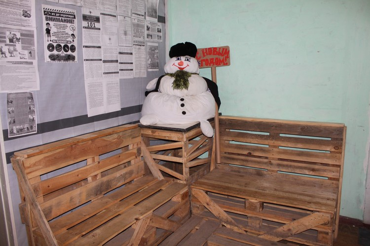 В зайцевской администрации - креативный зал ожидания