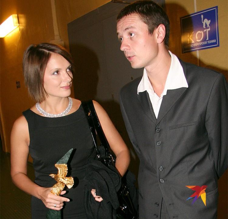 Актриса Порошина Мария и Илья Древнов в 2008 году.