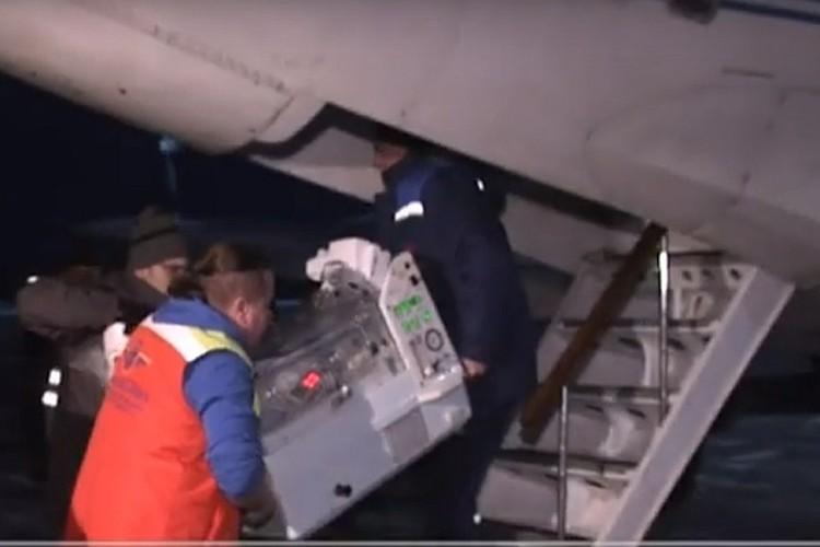 Ребенка отправили в Москву на операцию Фото: скриншот видео канала «Ямал-Регион»