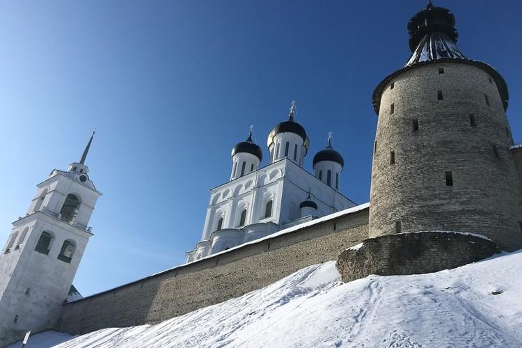 Троицкий собор Пскова. Фото: Даниил Нефедов.