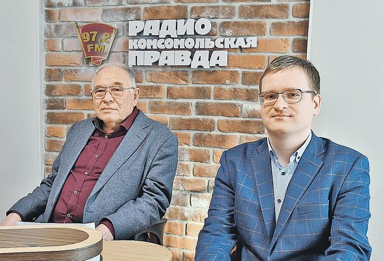 Владимир Булдаков и Дмитрий Апальков.