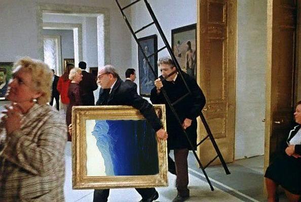"""Викрадення картини Куїнджі """"Ай-Петрі. Крим"""" із Третьяковської галереї в Москві - Цензор.НЕТ 7854"""