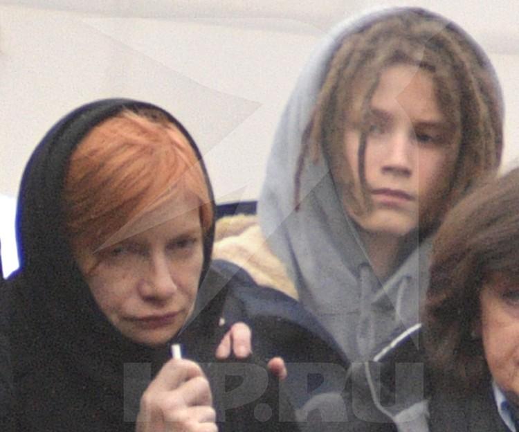 Мать Кирилла Толмацкого и его сын Тони.
