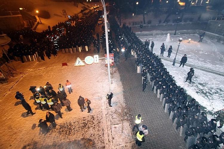 Майдан можно было разогнать