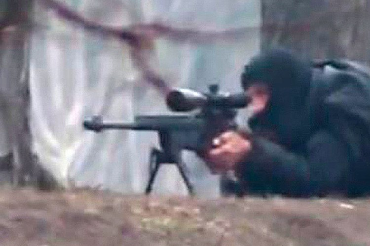 Снайперы расстреливали и милицию и протестующих