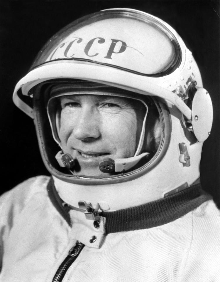 Космонавт Алексей Леонов, 1965 год. Фото: В. Базанова /Фотохроника ТАСС