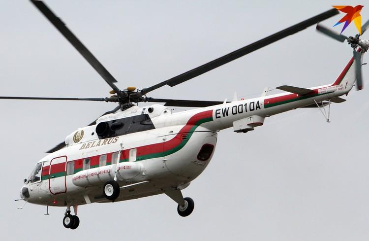 Основной вертолет, который использует Александр Лукашенко – российский Ми-172, сейчас машине уже 23 года.