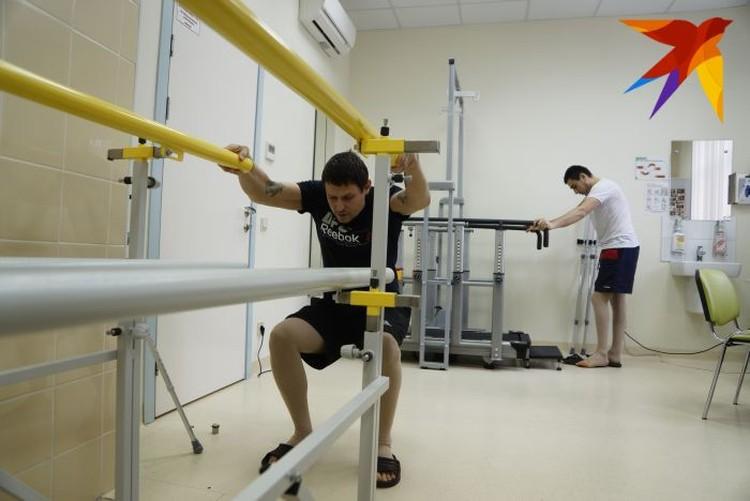 После операции пациенты проходят в Центре реабилитацию.