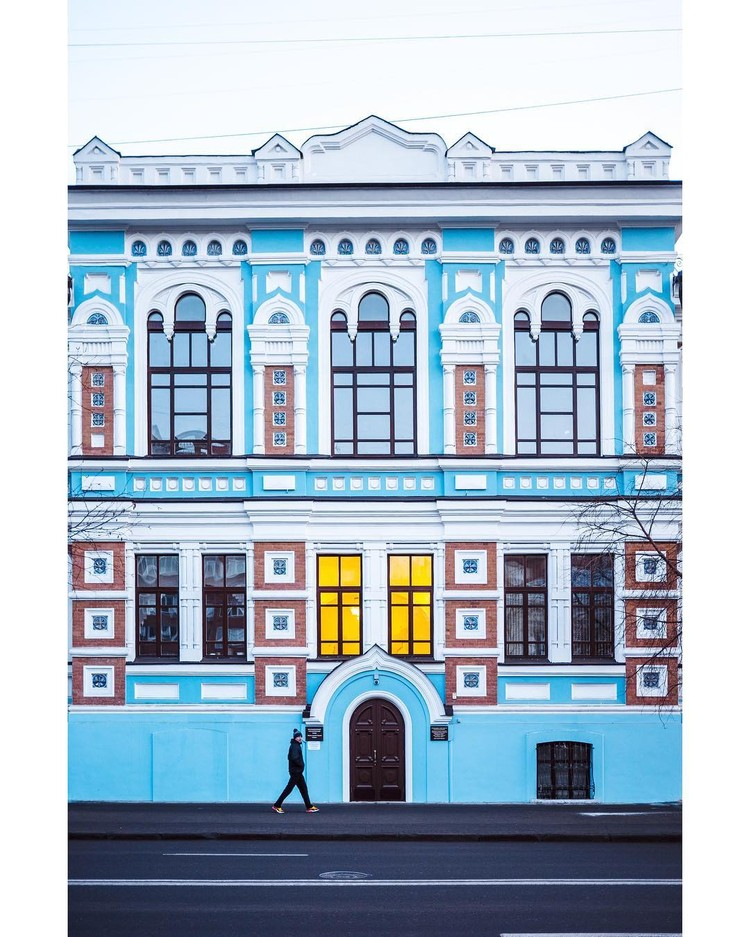 У Йорга 527 000 подписчиков. В его Instagram десятки городов и стран мира: родная Германия, осенний Нью-Йорк, завораживающая Исландия, златоглавая Москва и вот теперь Красноярск. Фото: Follow Up Siberia