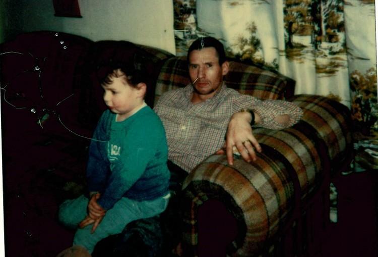Ричард со своим старшим сыном. Фото: личный архив героев публикации