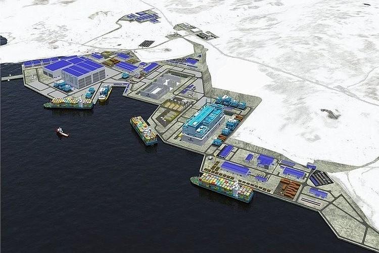 В Белокаменке появится большой проект, для которого даже создадут искусственные земельные участки. Фото: www.novatek.ru