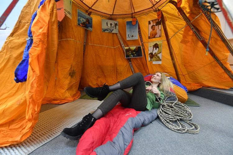 Та самая палатка экспедиции