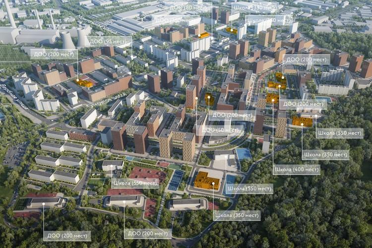 Проект района Метрогородок. Фото: Пресс-служба Москомархитектуры
