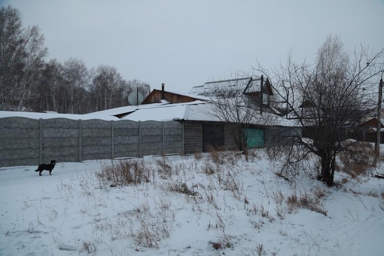 Дом погибшего экстрасенса в деревне Киндяково.