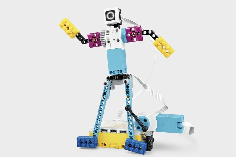 Из LEGO Education SPIKE Prime можно построить много необычного. Например, робота-танцора. Фото: LEGO.