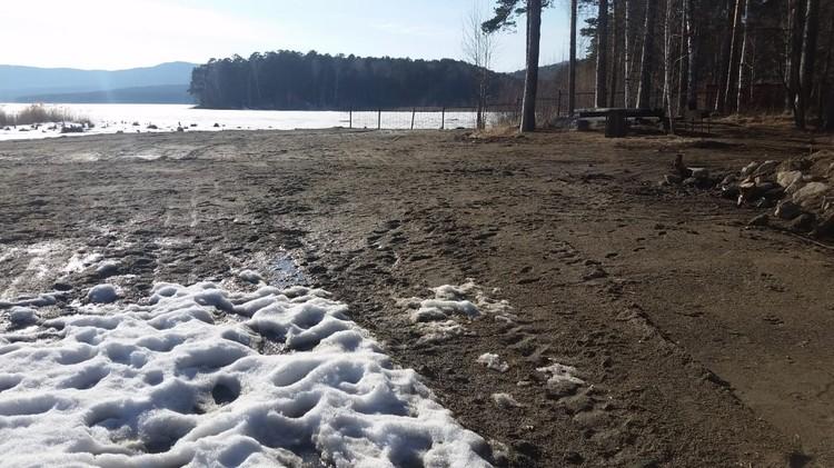 На озере изменили береговой ландшафт. Фото: «Гражданский патруль. Миасс»