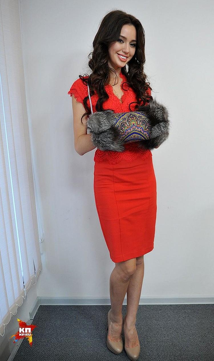 21-летняя ростовчанка Настя Костенко стала третьей на «Мисс Россия-2014»