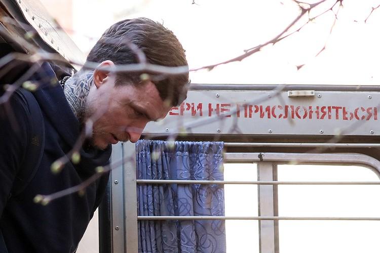 Павел Мамаев перед началом судебного заседания 17 апреля. Фото Сергей Савостьянов/ТАСС