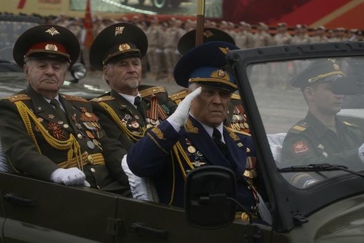 Парад Победы соберет ветеранов войны