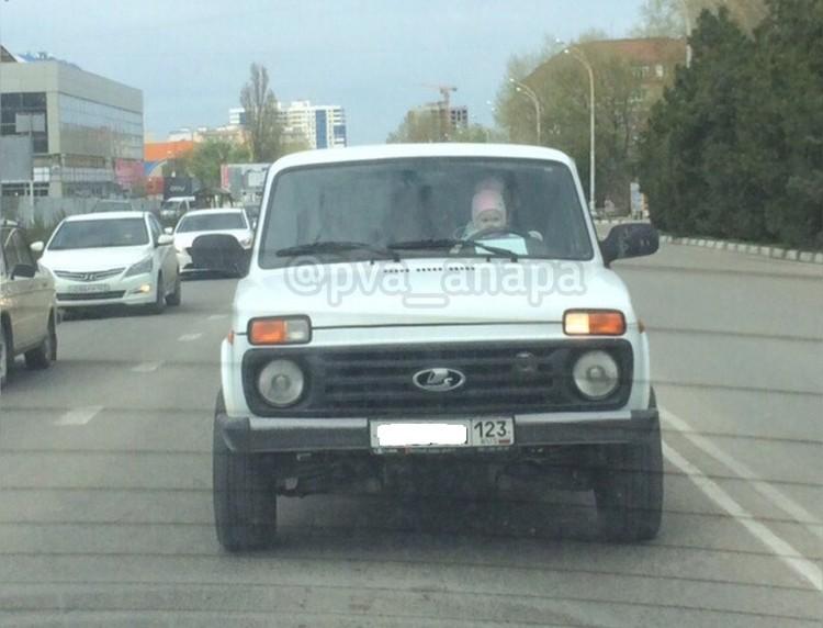 """""""Ниву"""" нашли по номерам и наказали владельца. Фото: """"Анапское Черноморье"""""""