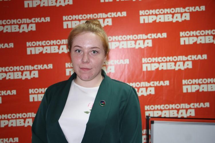 Марьяна Зайнутдинова, куратор ДОП «Барс». Фото: Евгения НИФОНТОВА