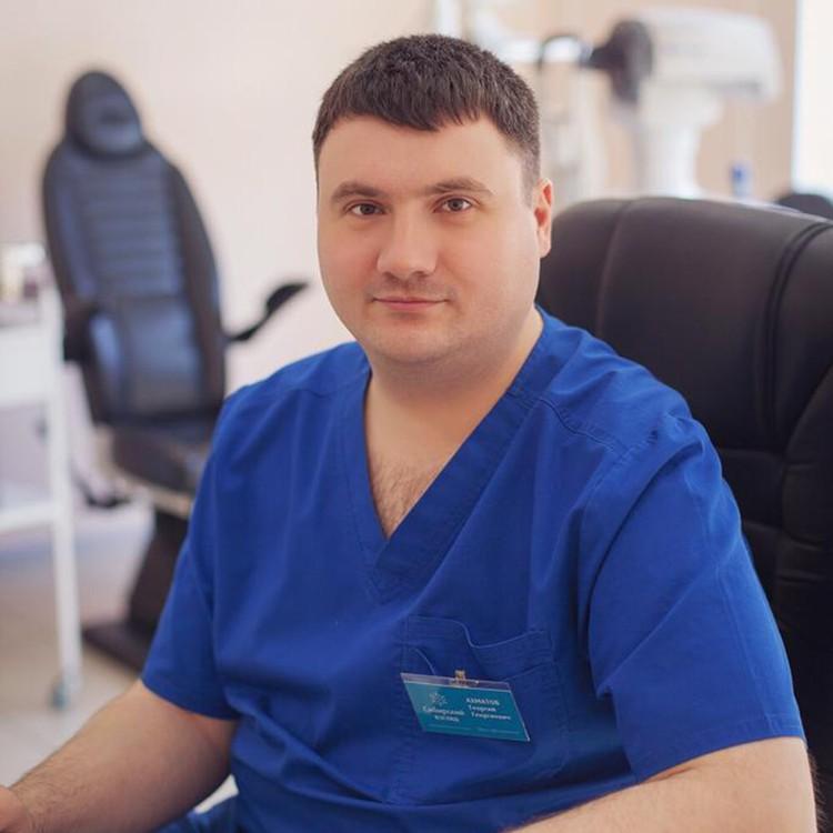 Георгий Ахматов - врач-офтальмолог, стаж в офтальмологии с 2008 года