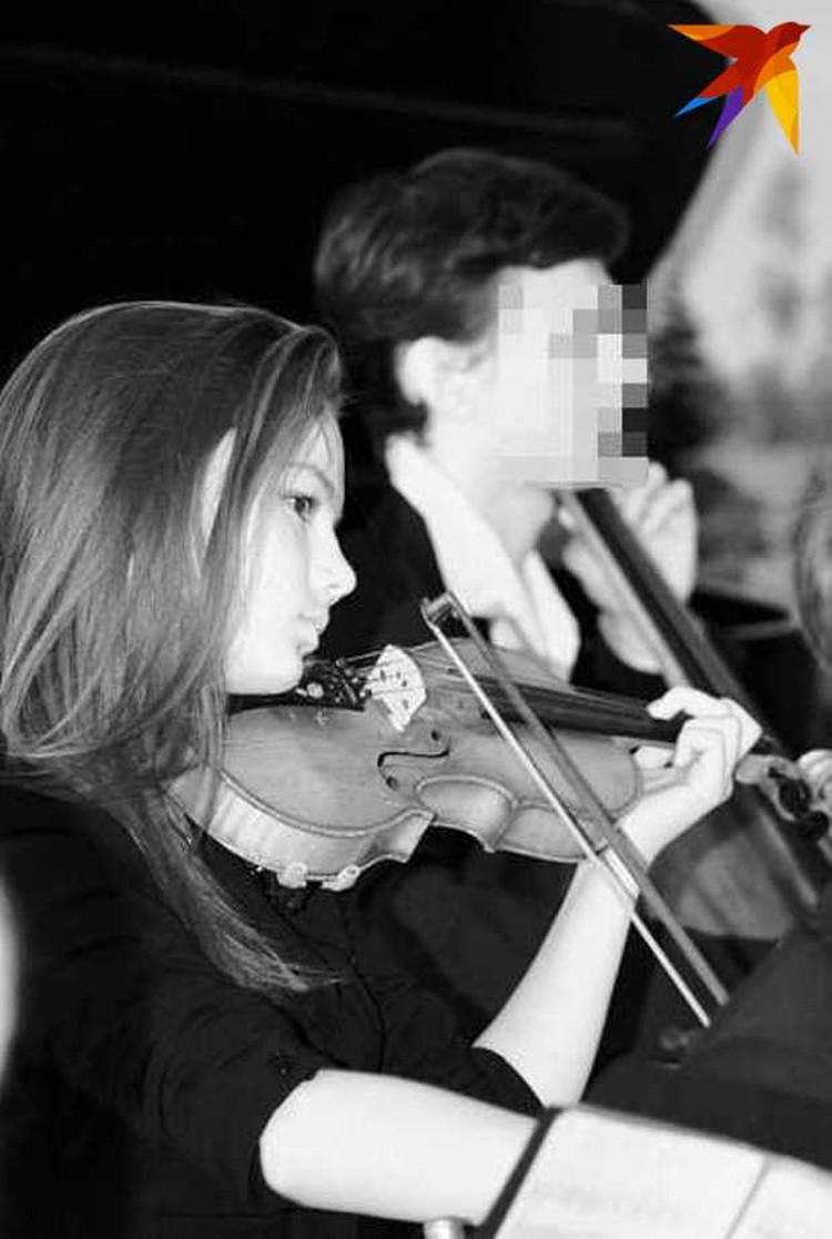 Полина увлекалась музыкой