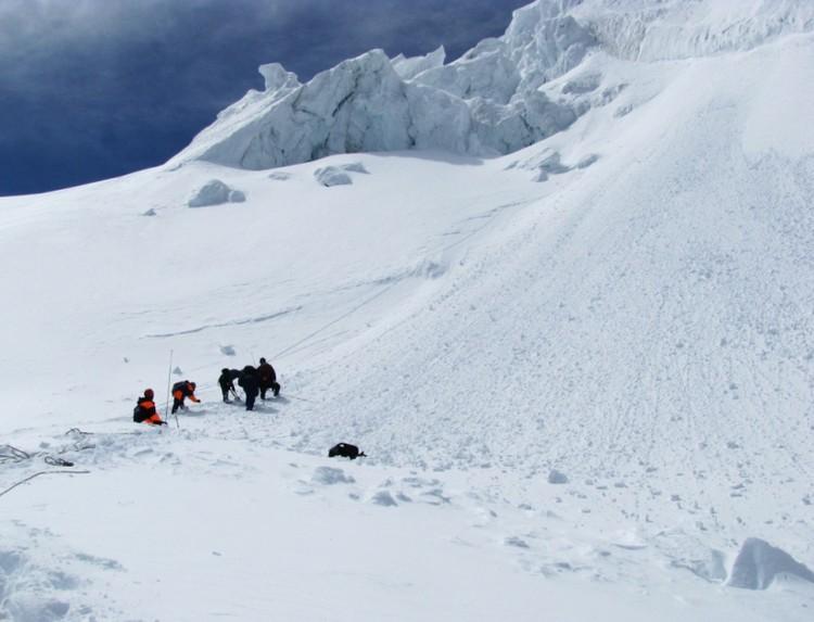 Спасательная операция в горах Алтая
