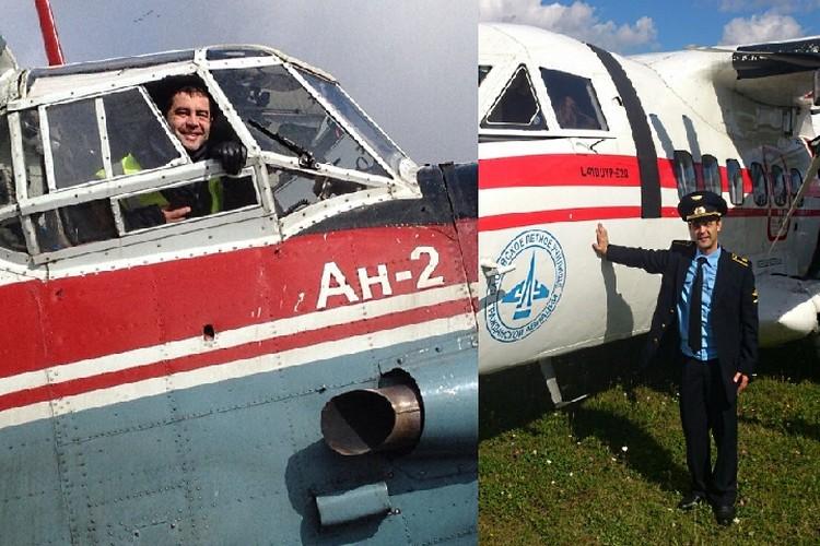 Но летчиком парень захотел стать не сразу, а уже отучившись на другие специальности
