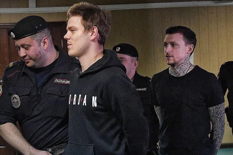 Александр Кокорин и Павел Мамаев, которых приговорили к полутора годам колонии, еще находятся в СИЗО