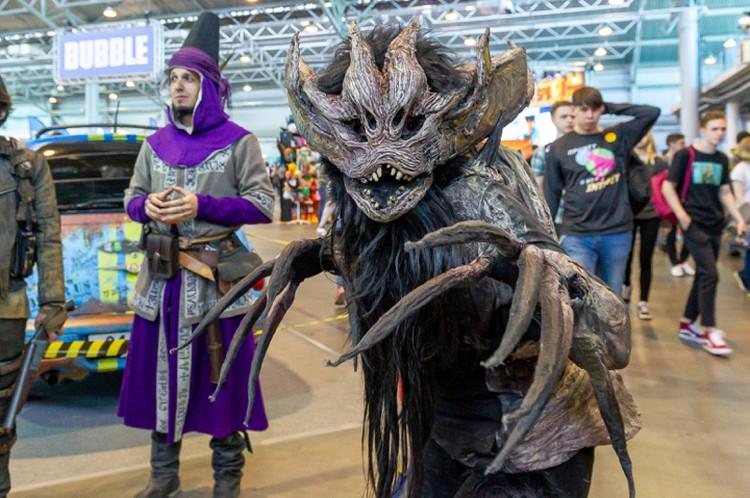 Comic Con 2019 в Санкт-Петербурге собрал тысячи любителей поп-культуры.