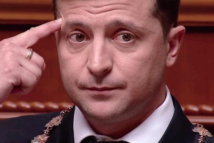 Владимир Зеленский демонстрирует, где должна быть Европа у каждого украинца.