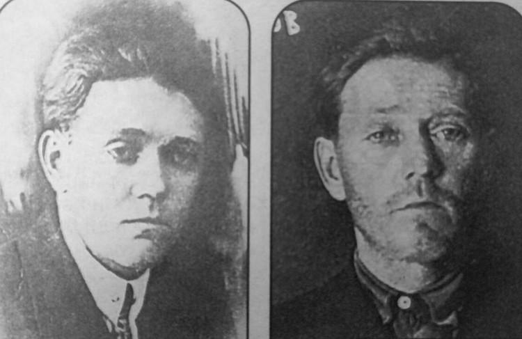Поэт Тодор Кляшторны - до пыток и после. Расстрелян 29 октября 1937 года. Ему было всего 34...