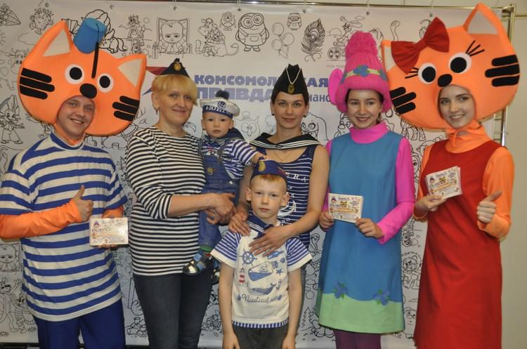 Семья морячков завоевала награду от наших партнеров как одна из самых креативных.