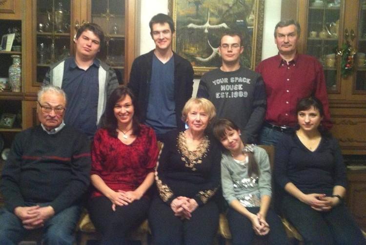 Последний новый год с семьей. Фото: семейный архив Буравкиных