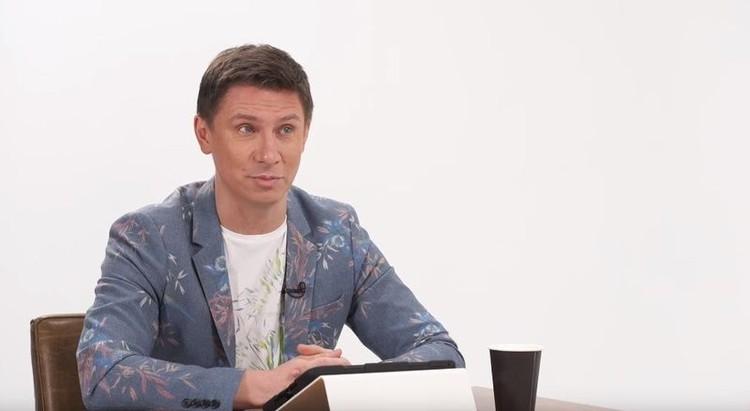 """Тимур признается, что не может устроить с Олей """"мимолетный чих-пых"""". Фото: кадр видео."""