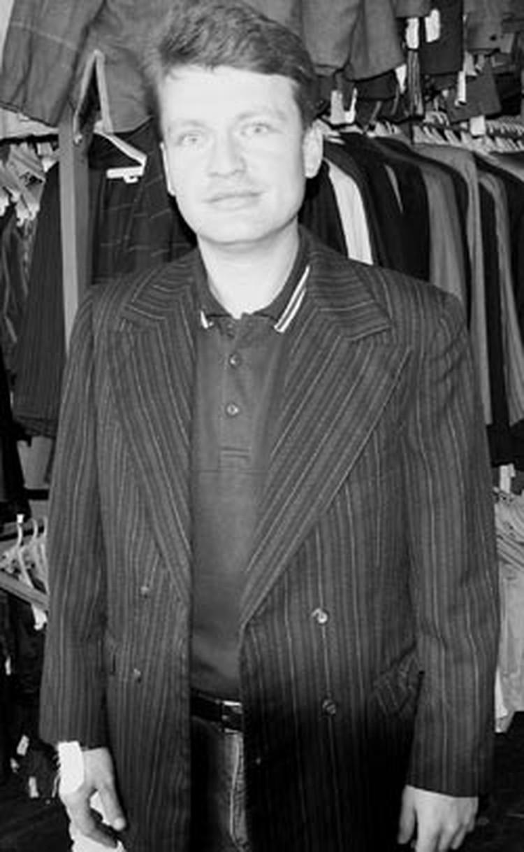 """Корреспондент """"КП"""" Леонид Рябков в том самом пиджаке."""