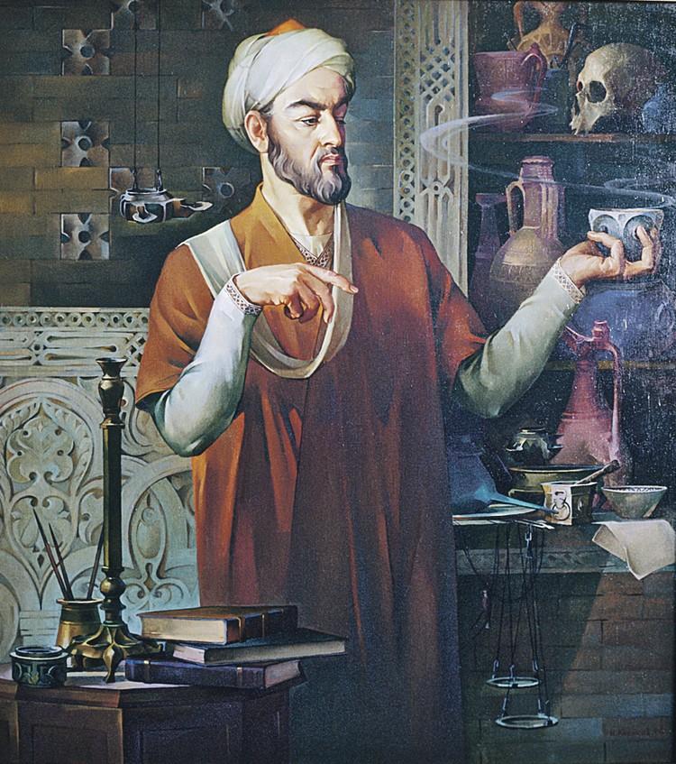 Портрет Абу Ибн Сины (Авиценны) работы художника Ивана Лисикова