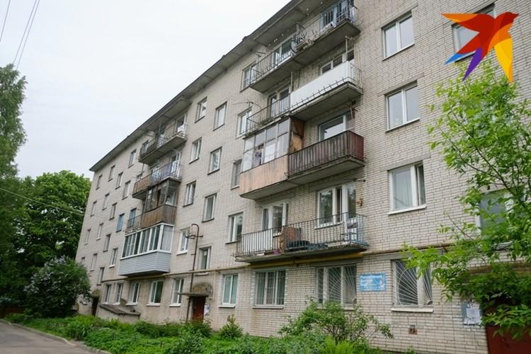 Мама Насти живет в обычной пятиэтажке