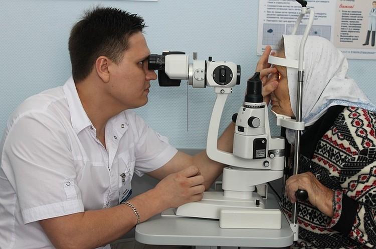 Диагностика зрения.
