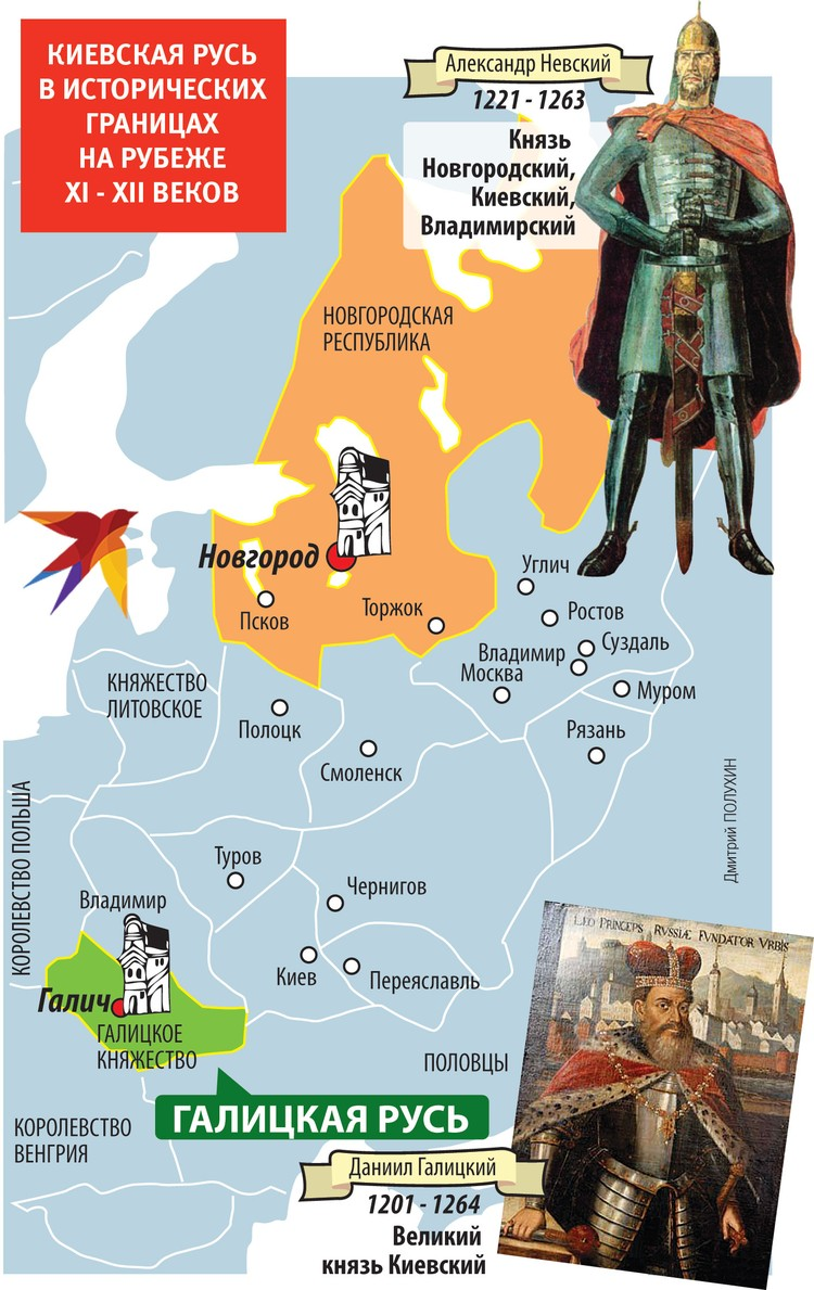 КИЕВСКАЯ РУСЬ В ИСТОРИЧЕСКИХ ГРАНИЦАХ НА РУБЕЖЕ XI - XII ВЕКОВ