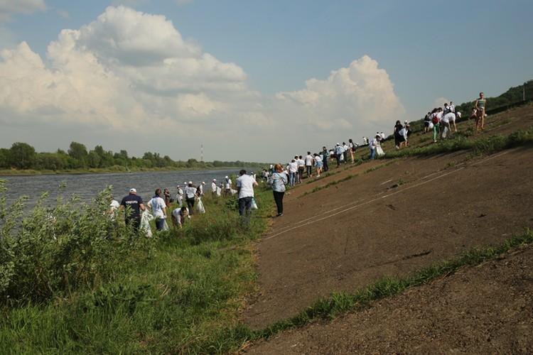 Деятельность человека напрямую влияет на реку