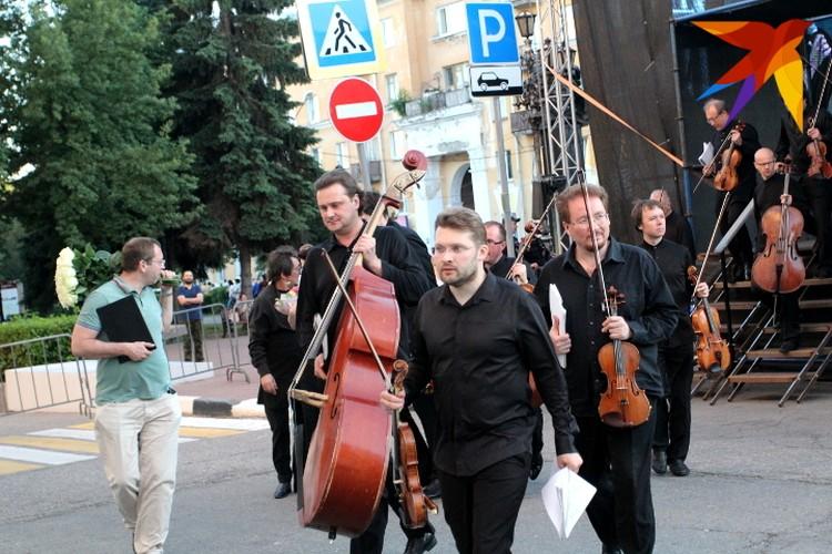 Музыканты камерного ансамбля «Солисты Москвы»