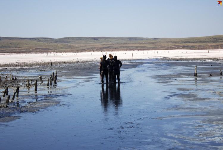 Грязь с озера Чокрак лечит многие болезни